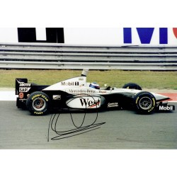 Mika Hakkinen  genuine signed original autograph photo