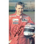 Mika Hakkinen original authentic genuine signed autograph