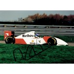 Mika  Hakkinen original authentic genuine signed photo
