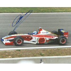Mika Salo genuine original authentic signed autograph photo