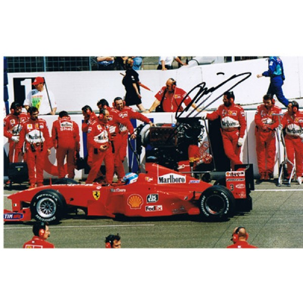 Mika Salo  genuine signed authentic autograph photo