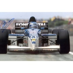 Mika Salo  genuine signed original autograph photo
