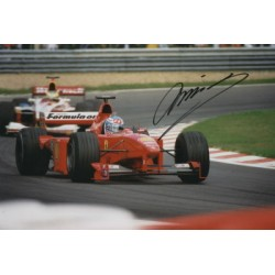 Mika Salo  original authentic genuine autograph signed photo