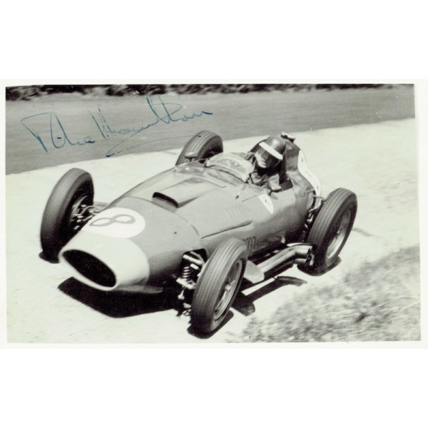 Mike Hawthorn genuine authentic signed autograph signatures photo