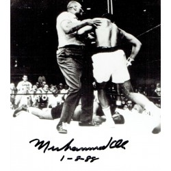 Muhammad Ali Boxing genuine signed authentic autograph signature book cover