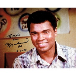 Muhammad Ali Boxing genuine signed authentic autograph signature photo