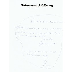 Muhammad Ali genuine authentic signed autograph signatures