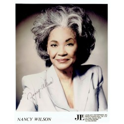 Nancy Wilson  original authentic genuine autograph signed photo