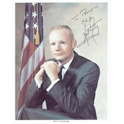 Neil Armstrong  authentic signed autograph signatures photo