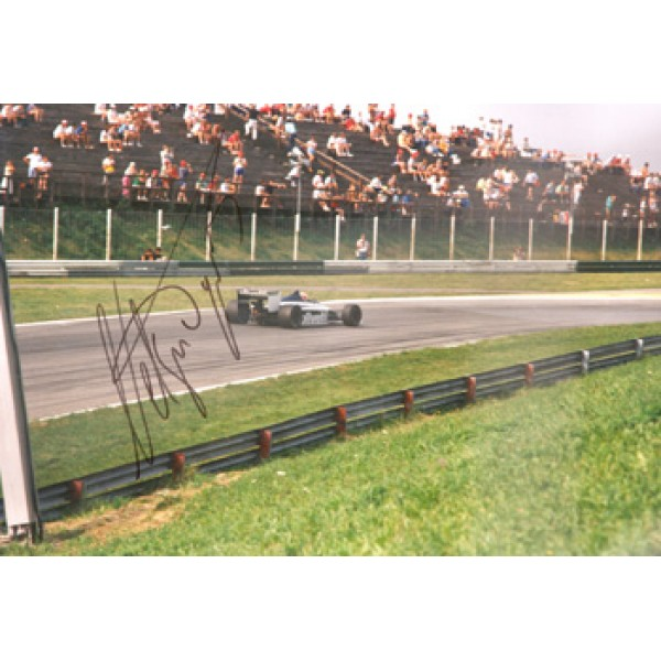 Nelson Piquet genuine original authentic signed autograph photo