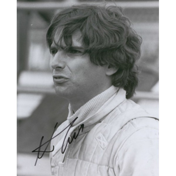 Nelson Piquet original authentic genuine signed autograph photo