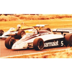 Nelson  Piquet original authentic genuine signed photo