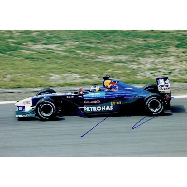 Nick Heidfeld  genuine signed original autograph photo