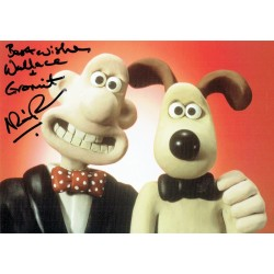 Nick Park authentic signed genuine signature