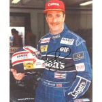 Nigel Mansell genuine original authentic signed autograph photo