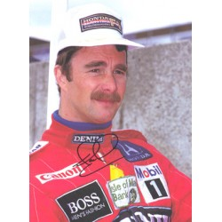 Nigel  Mansell  genuine signed original autograph