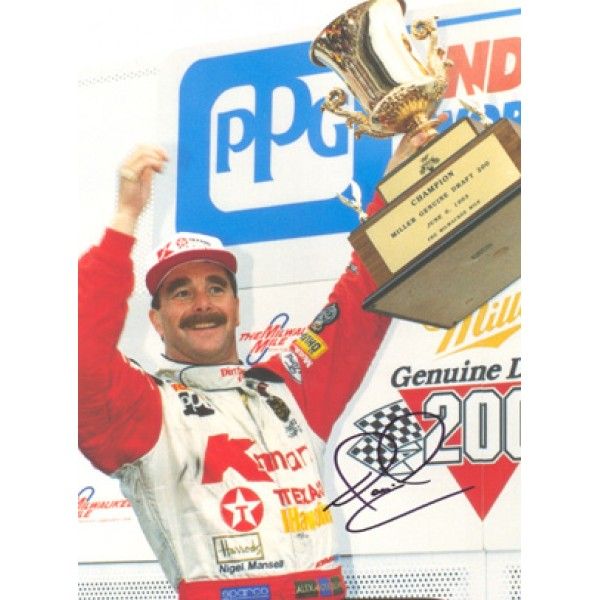 Nigel Mansell  genuine signed original autograph photo