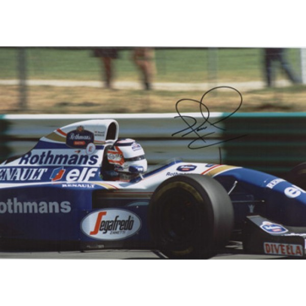 Nigel Mansell  original authentic genuine autograph signed photo
