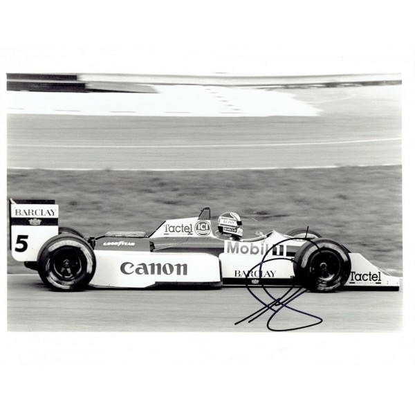 Nigel Mansell signed authentic genuine signature