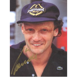 Niki  Lauda  genuine signed original autograph