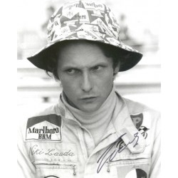 Niki Lauda  genuine signed original autograph photo