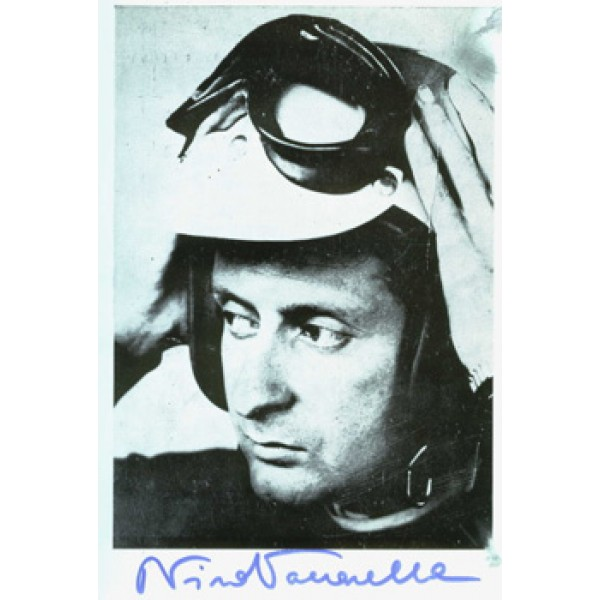 Nino Vacarella  genuine signed authentic autograph photo