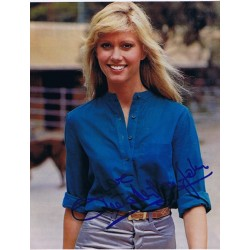 Olivia  Newton-John signed authentic genuine signature