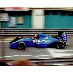 Olivier Grouillard genuine original authentic signed autograph photo