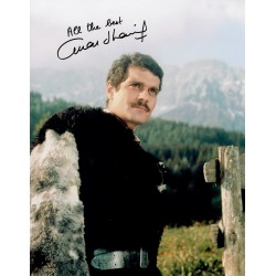 Omar Sharif  original authentic genuine autograph signed photo