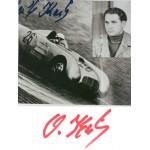 Oswald Karch original authentic genuine signed autograph