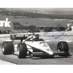 Patrick Tambay original authentic genuine signed autograph photo