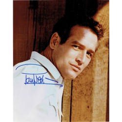 Paul Newman original authentic genuine signed photo