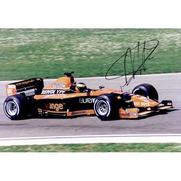 Pedro De La Rosa  genuine signed original autograph photo