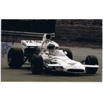 Peter Revson signed authentic genuine signature photo