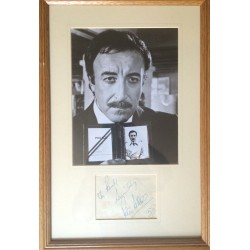 Peter Sellers  authentic genuine autograph signed photo