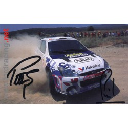 Petter Solberg  genuine signed authentic autograph photo