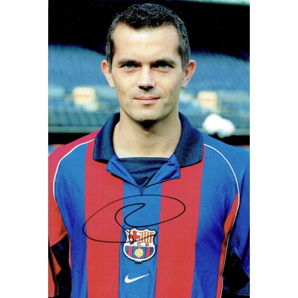Philip Cocu original authentic genuine signed photo
