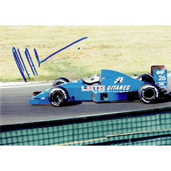 Philippe Alliot  genuine signed original autograph photo