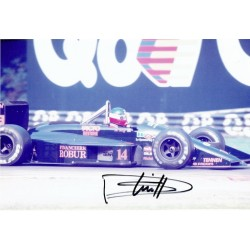 Philippe Streiff original authentic genuine signed photo