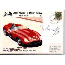 Piero Taruffi genuine original authentic signed autograph