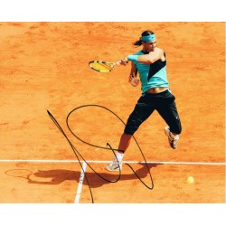 Rafael Nadal signed authentic genuine signature