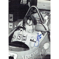 Rene Arnoux original authentic genuine signed autograph photo