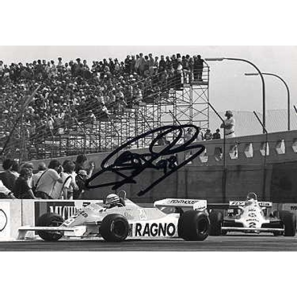 Ricardo Patrese  original authentic genuine autograph signed photo