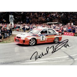 Richard Burns original authentic genuine signed photo