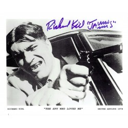 Richard Kiel  original authentic genuine autograph signed photo