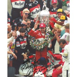 Rick Mears genuine original authentic signed autograph photo