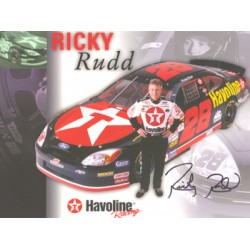 Ricky Rudd original authentic genuine signed autograph photo