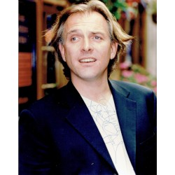 Rik Mayall  original authentic genuine autograph signed photo