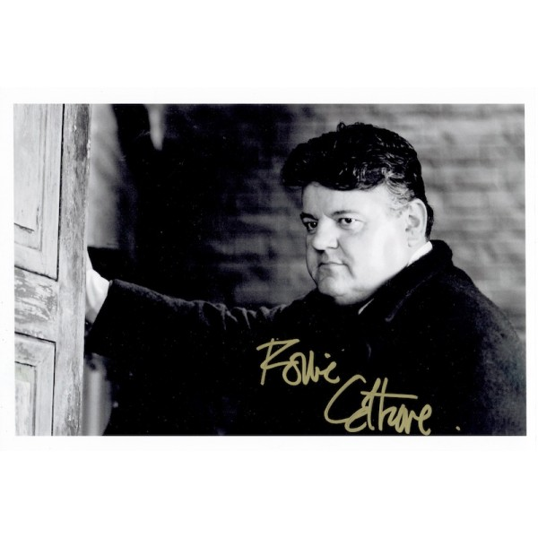 Robbie Coltrane  original authentic genuine autograph signed photo