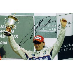 Robert Kubica signed authentic genuine signature photo